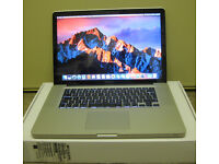 APPLE MACBOOK PRO LAPTOP i7 2.2GHz / 4GB RAM / 500GB HD -BOXED