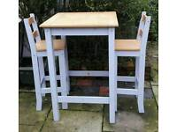 Tall table two chairs