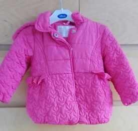 Mothercare baby girl winter jacket 18-24