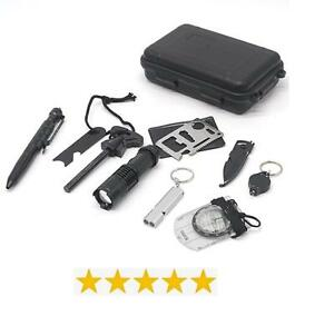 Emergency Survival Tool Kit - 10 in 1