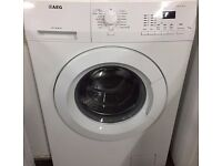 98 AEG L61270FL 7kg 1200 Spin White LCD Washing Machine 1 YEAR GUARANTEE FREE DEL N FIT