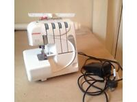 JANOME 9200D overlocker overlock sewing machine for stretch and woven garments great condition