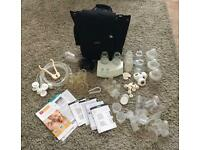 Breast pump (dual) Electric plus extras