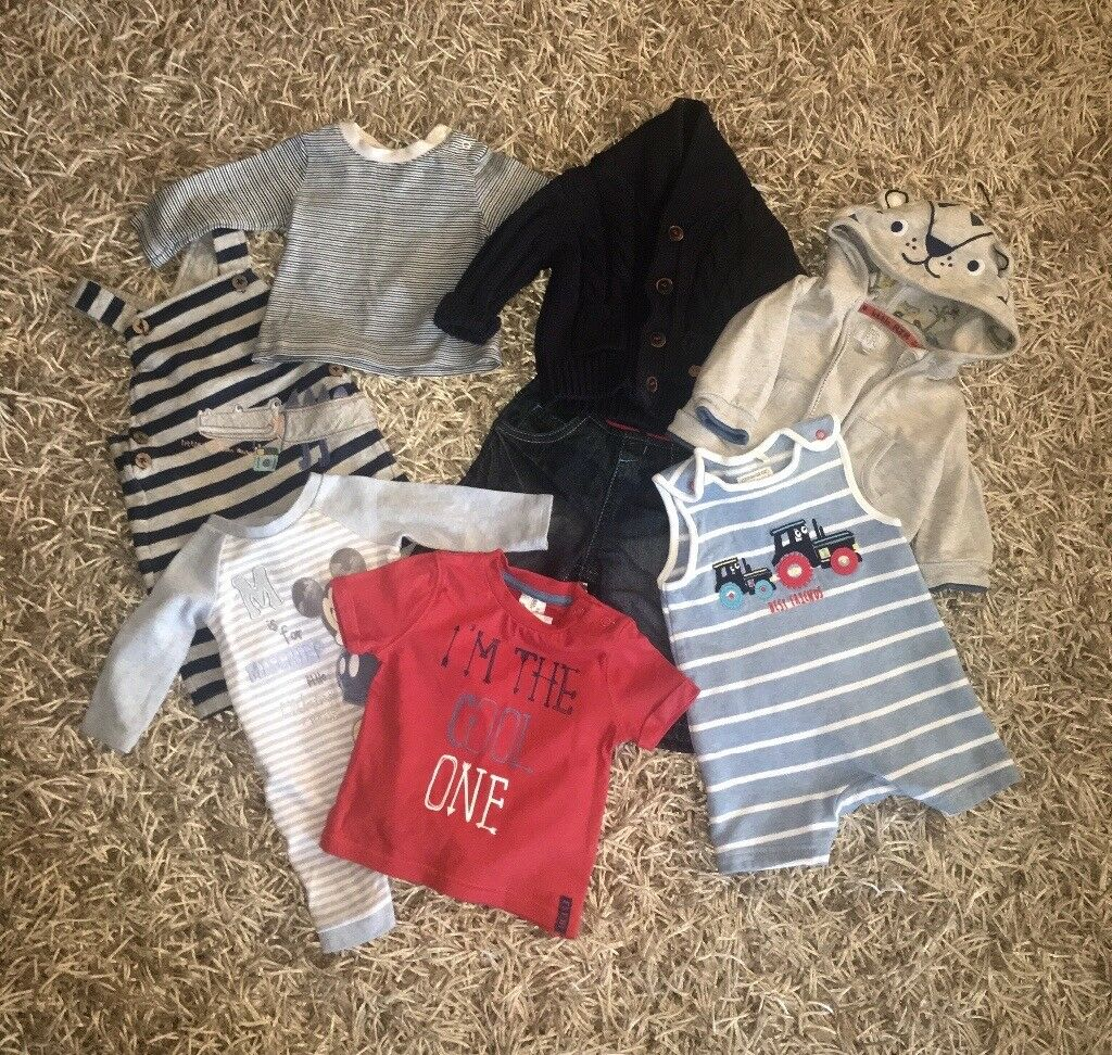 Bundle of Designer baby boys clothing up to 3 months
