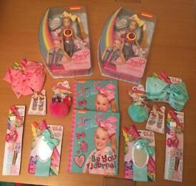 14 Item Jo Jo Siwa Gift Bundle Including 2 Singing Dolls, 2 LED watches,
