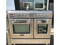 Range Cooker (dual fuel) -Stainless Steel