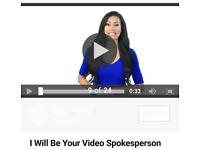 Job - Record Short Spokesperson Videos