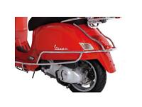 Original Vespa GT Crash Bars Side Bars GTS 125 300 Protection