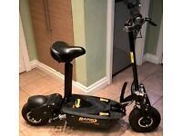 1600 Watt ELECTRIC SCOOTER WITH SEAT, 48V ,(spares or repairs)