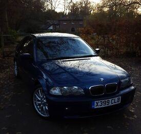 BMW 3 Series E46 330i 4 door saloon, M-Sport, Auto, excellent condition 89,000m £4250 ONO