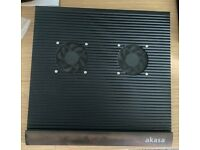 LAPTOP COOLING PAD SOLID ALUMINIUM WITH TWO FANS