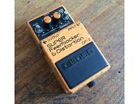 Boss DF2 Super Feedbacker & Distortion pedal