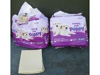 47x Pets At Home Puppy Toilet Training Pads 55 x 57cm