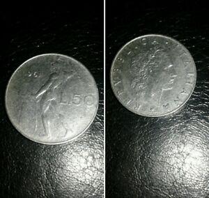 Italia-moneta-Repubblica-del-1961-50-lire