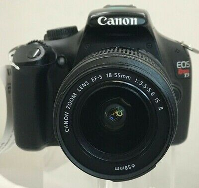 Canon EOS Rebel T3 DSLR Camera with a Canon EF-S 18-55mm Lens (07-1D)