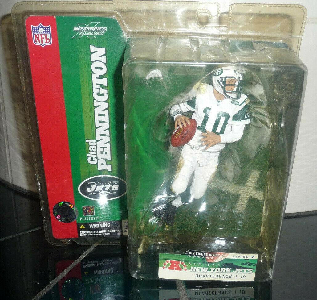 Chad Pennington 2007 McFarlane Football Figure Series 7 New York Jets