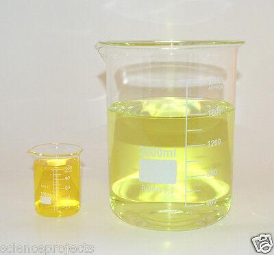 Beaker Set 2000 100ml Griffin Borosilicate Glass Beakers Lab New Measuring