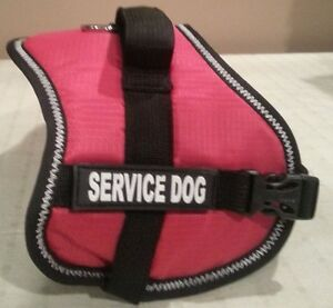 REFLECTIVE Service Dog Vest Comes With 2 Service Dog Patches Ready To Go X Small