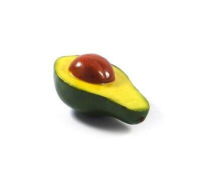 Artificial Avocado Half Large - Plastic Decorative Fruit Vegetable Fake Avacado