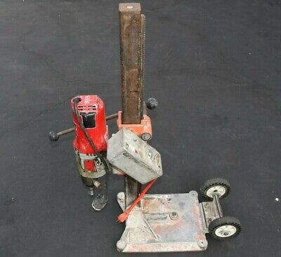 Milwaukee Heavy Duty Dymodrill 4096 Core Drill Core Bore Rig With Stand 120v