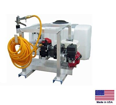 Sprayer Commercial - Skid Mounted - 9.5 Gpm - 580 Psi - 5.5 Hp - 50 Gallon Tank
