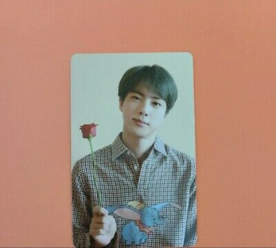 BTS JIN PHOTOCARD from Official Memories of 2019 DVD - US seller [PC ONLY]