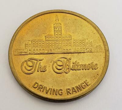 Vintage The Biltmore Hotel Golf Course Driving Range Token Coral Gables Floirda