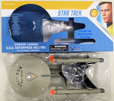Star Trek Legends Electronic Ship USS Enterprise 1701 HD Version Diamond Select