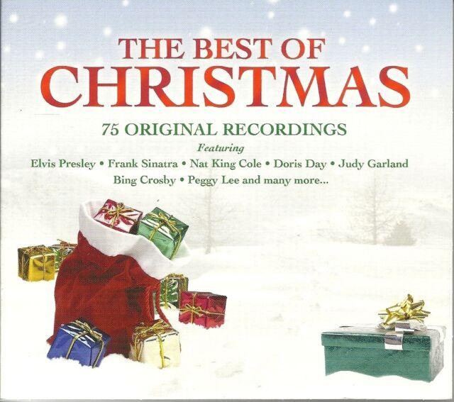 THE BEST OF CHRISTMAS - 3 CD BOX SET - ELVIS PRESLEY, BING CROSBY & MORE