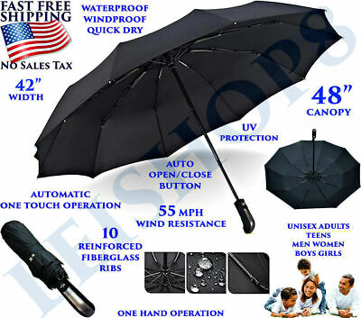 BEST UMBRELLA COLLAPSIBLE WINDPROOF FOLDABLE HEAVY DUTY FOLDING PORTABLE
