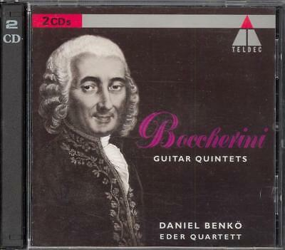 BOCCHERINI - 4 Guitar Quintets 1 / 2 / 7 & 9  - Daniel BENKO / EDER QUARTET 2CDs for sale  High Wycombe