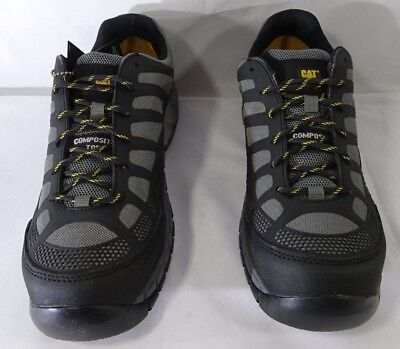 Caterpillar Cat Streamline Ct S1p Charcoal Composite Toe Cap Safety Size 11.5 T2