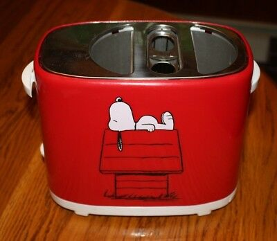 The Unusual Snoopy Hot Dog Toaster, Toast Hot Dog & Buns PEANUTS Cooker WORKS