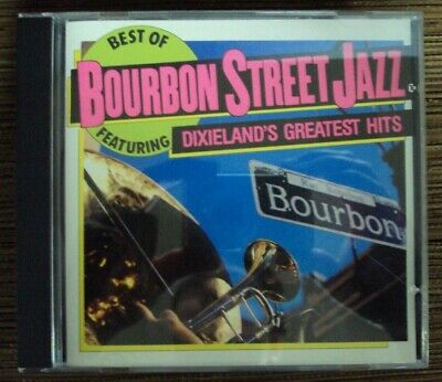 BOURBON STREET JAZZ Best Of... CD early-90's dixieland Mardi Gras
