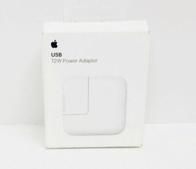 Genuine Apple (MD836LL/A) 12W USB Power Adapter Charger White For iPhone & iPad
