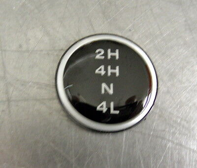 Jeep Wrangler Shift Knob Insert For Process 231 Transfer Case