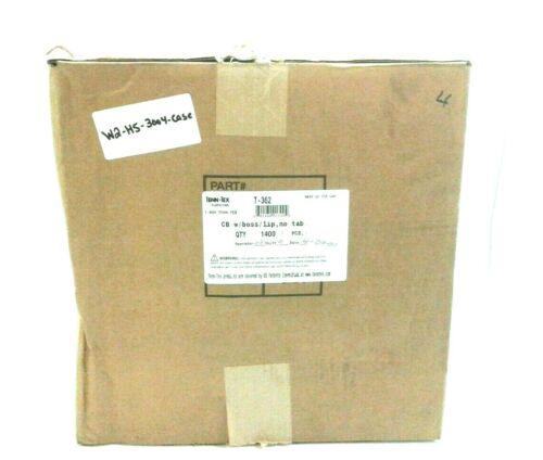 Tenn-Tex T-362 Corner Brace 2-1/2 x 2-1/2 x 3/4 in White Plastic (Case 1400 pcs)