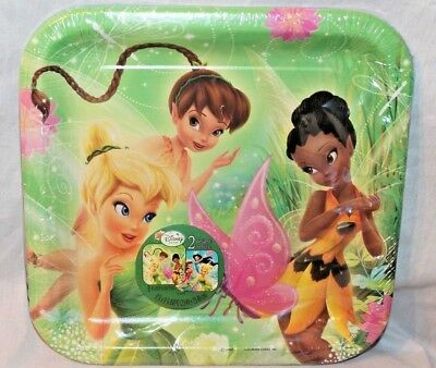 NEW  IN PACKAGE TINKERBELL & FAIRIES 8 LUNCHEON DINNER PLATES PARTY SUPPLIES  ](Tinkerbell Plates)