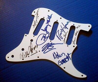 """Northwest"" musicians signed Fender Stratocaster guitar pic-guard!...Rare!"