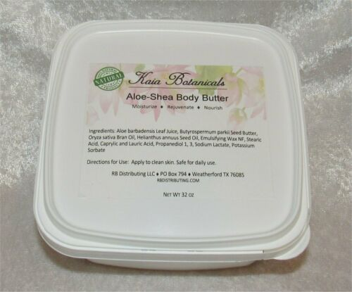 Formulate Your Own Natural Skincare: Shea-Aloe Body Butter Cream Base Wholesale