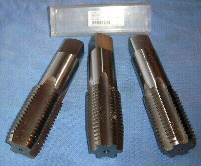 3 Piece Set M42 X 4.5 Taps 4 6 Flute Hss Ground