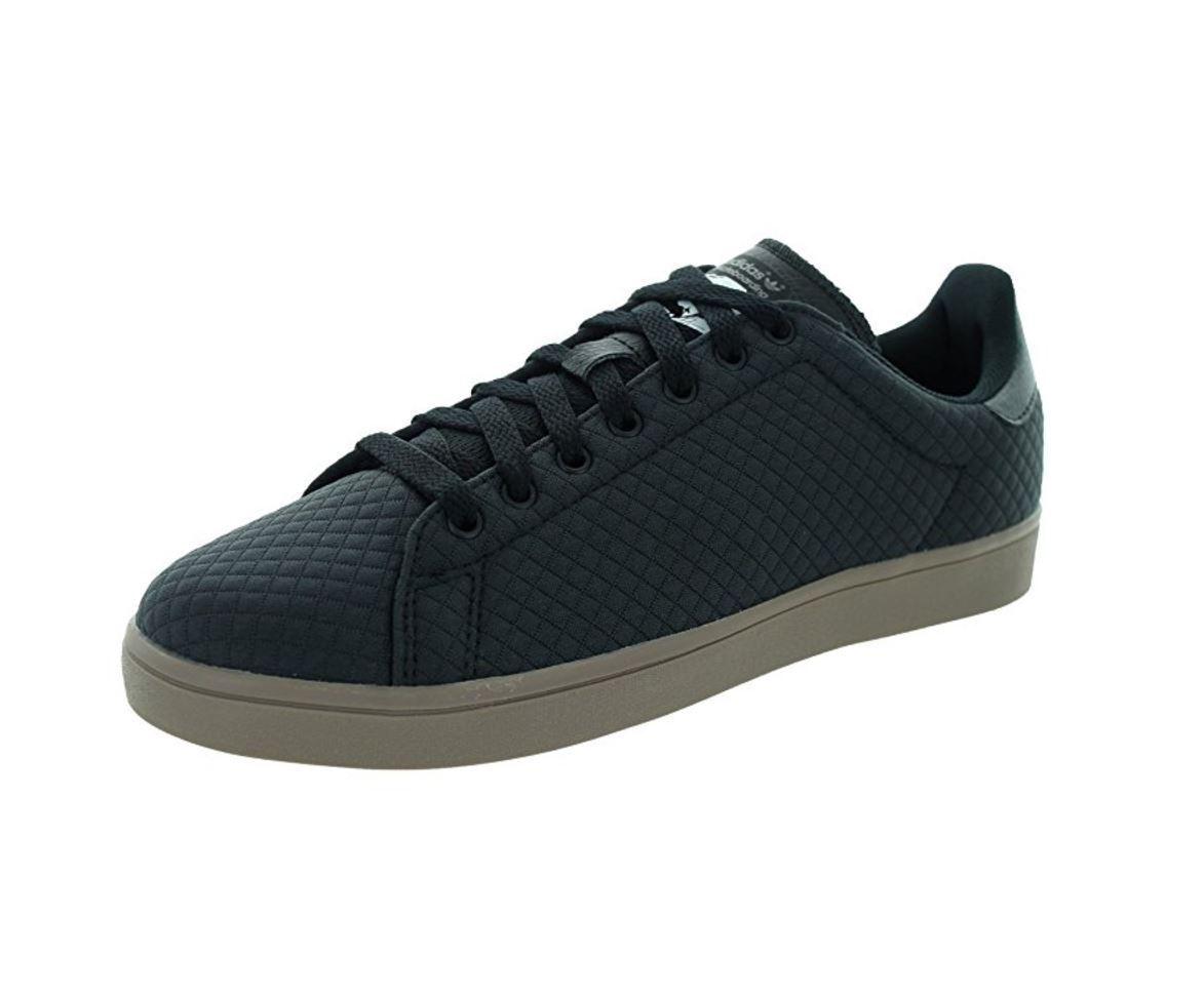 Adidas Men's Stan Smith Vulc Skate Shoe; Carbon / Black / Gums; SIZE 11 & 9.5 US