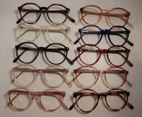 Vintage 10 Pc Lot Elite New Yorker Assorted Colors 52/19 Eyeglass Frame NOS #S41