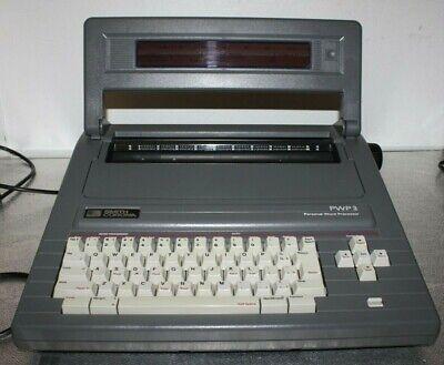 Smith Corona Portable Personal Word Processor Typewriter Pwp 3 5d Manual