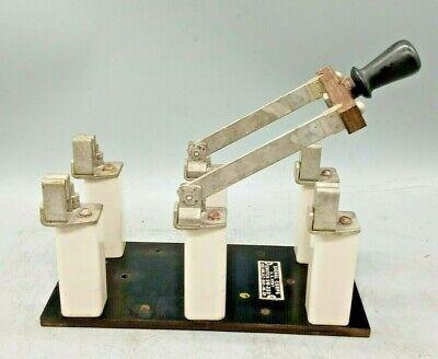 Knife Switch Sw-223 U. S. Army Signal Corp. Steampunk Or Frankenstein