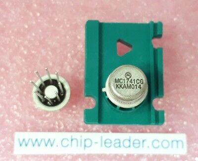 2x Motorola MC1741CG , Operational Amplifier, 1 Func, 7500uV Offset-Max, MBCY-8 ()