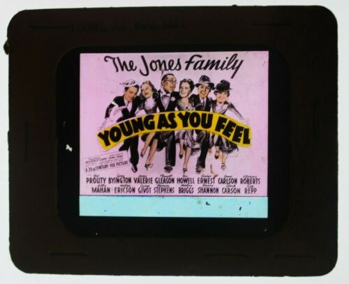 Young as You Feel 1940 glass slide - Jed Prouty - free shipping