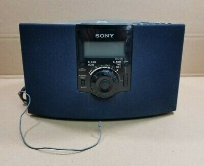 Sony Dream Machine AM/FM CD Alarm Clock Radio ICF-CD823 TESTED & WORKING