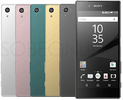 "Sony XPERIA Z5 Dual E6683 / E6633 (FACTORY UNLOCKED) 23MP, 5.2"" , 32GB - Black"
