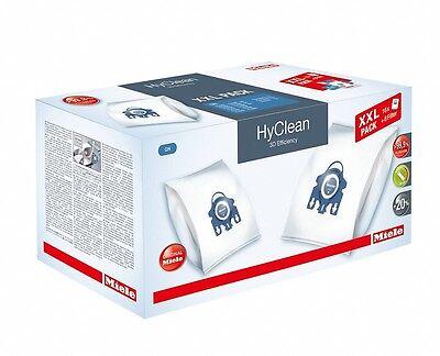 16  Miele Staubbeutel HyClean 3D Typ GN - XXL Pack - Farbe Blau - 10408410